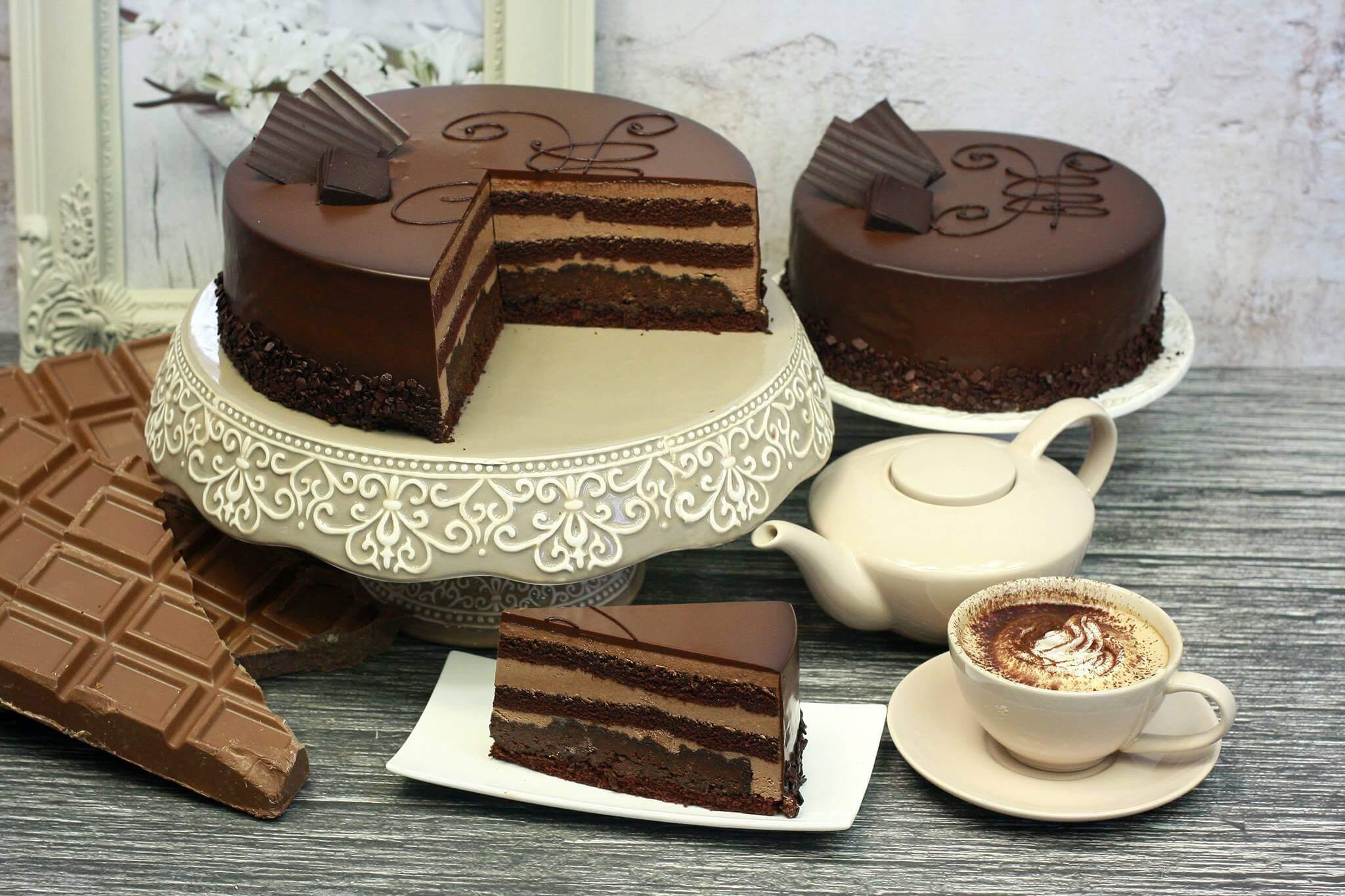Klasyczny czekolada deserowa