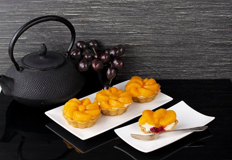Tartaletka z mandarynką   produkt dostępny sezonowo